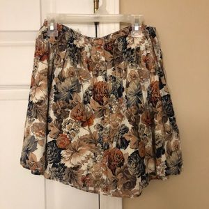Pretty skirt with fall colors